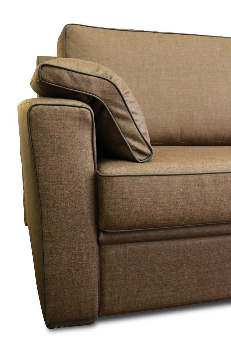 Schliephorst Polsterei - Sofa mit hochwertigem Stoffbezug.