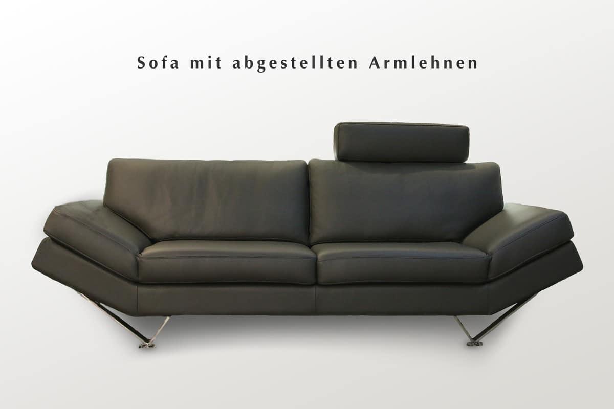 schwarzes ledersofa latest modular sitzer sofa couch lyon kunstleder schwarz with schwarzes. Black Bedroom Furniture Sets. Home Design Ideas