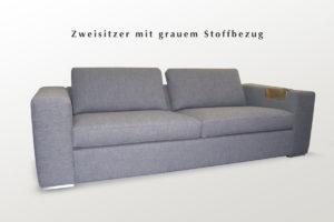 Couchgarnitur mit Stoffbezug