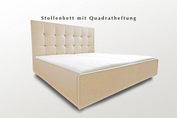 Doppelbett mit verdeckten Füßen