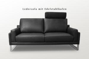 Hochwertige Polster-Garnituren in Stoff und Leder