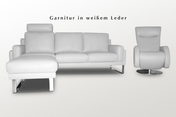 Funktionsgarnitur mit Sessel